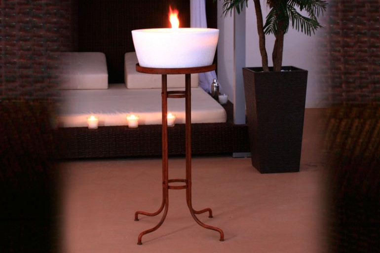 CANDLE STANDS AND HOLDERS